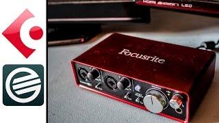 configurar focusrite scarlett 2i2 con guitar rig y grabar en cubase   tutorial en espaol