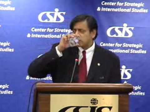 Statesmen's Forum: Shashi Tharoor, UN Under-Secretary-General for Communications and Public Inf...