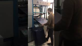 Luggage forming machine in Turkey Customer Factory