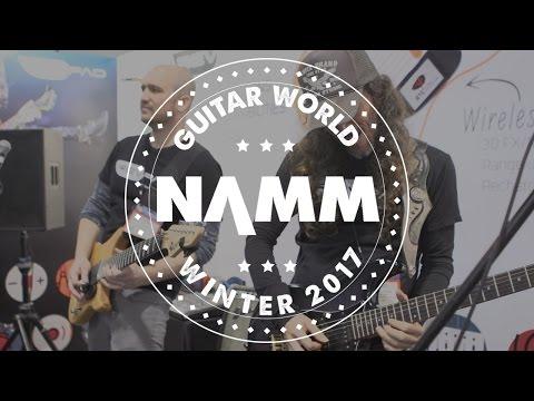 NAMM 2017 - GTC  - REVPAD Demo