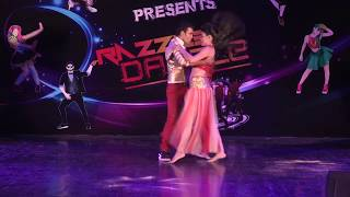 Krishna Salsa with Bollywood Moves | Dance Basanti | Salsa Moves | Krishna Entertainment Act.