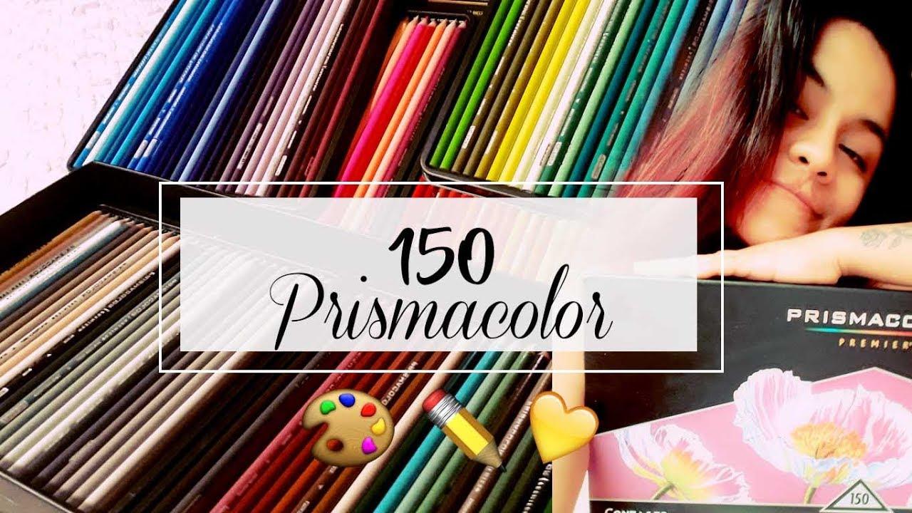 Review// UNBOXING Set de 150 lápices PRISMACOLOR PREMIER ¿Si vale la pena?