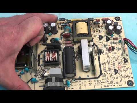 видео: Монитор lg w2243s выключается. Разборка устранение неисправности