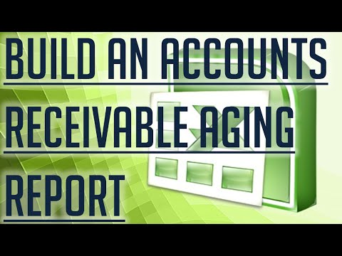 [Free Excel Tutorial] BUILD AN ACCOUNTS RECEIVABLE AGING REPORT IN EXCEL - Full HD