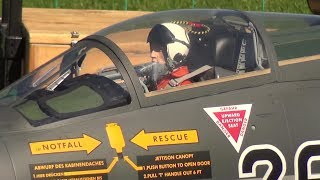 EMERGENCY LANDING: STARFIGHTER F-104 TURBINE SCALE DETAILED RC JET