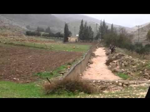 Flooding -- Wadi Makoch