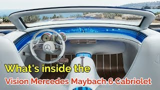 Vision Mercedes Maybach 6 Cabriolet Review - Ready go to Auto China 2018 | NEW AUTO TV