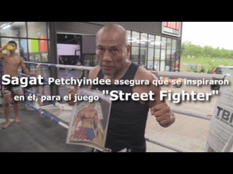 """Sagat Petchyindee, asegura que el juego """"Street Fighter"""" está insipirado en él"""