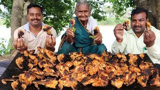 Fried Chicken With 100 Chicken Wings By Granny Mastanamma
