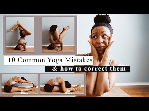 10 most common YOGA MISTAKES new students make | and how to fix them