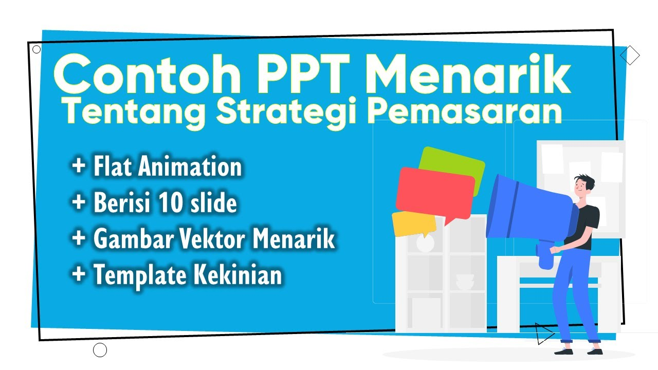Contoh Presentasi Seminar Proposal Menarik Youtube