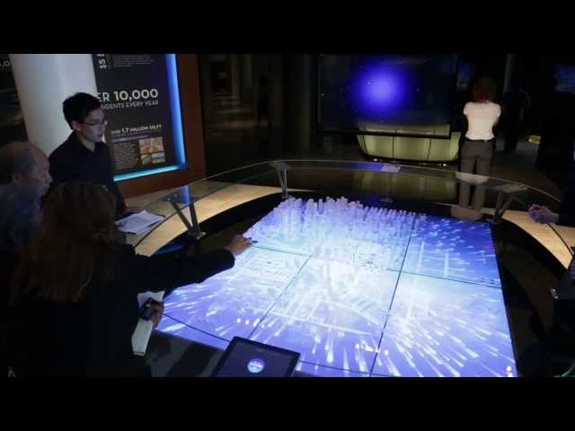 Interactive Table for Park Avenue, Surrey, BC