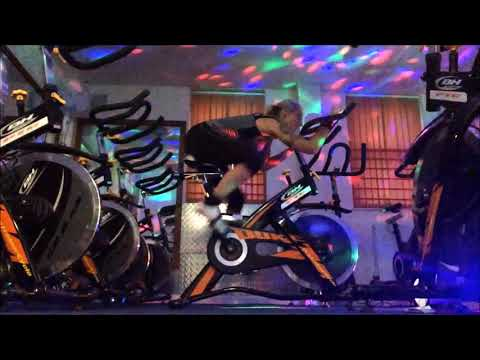 INDOOR SPIN Advanced Cycling Positions On Bike Hard & Tough Body Postures