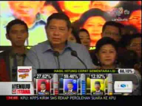 Ucapan Trima Kasih SBY