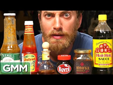 Strange Condiments Taste Test