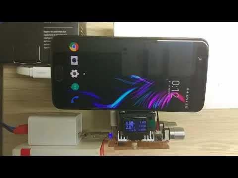 OnePlus 5 зарядка и тестирование Dash Charge часть2
