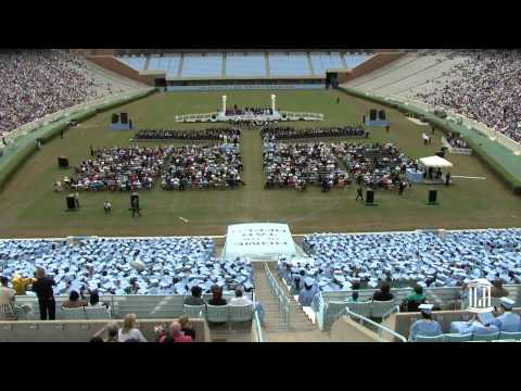 UNC-Chapel Hill Graduation 2012   In 70 Seconds