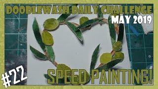 Olives | Doodlewash May 2019 | Day 22