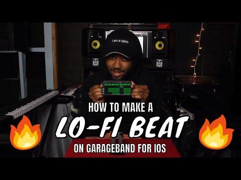 How to make a Lo-Fi beat on an iPhone (Garageband ios)