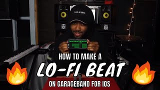How to make a Lo-Fi beat on an iPhone (Garageband ios)