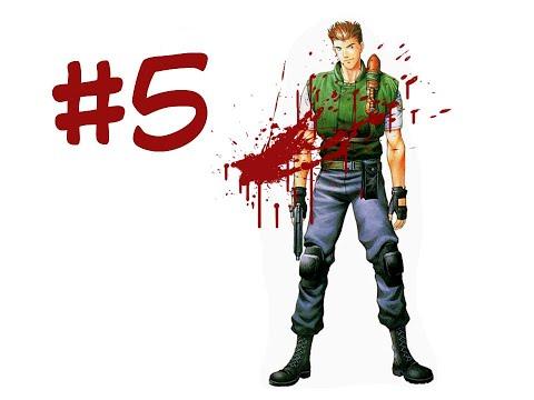 Прохождение Resident Evil (1996) за Криса #5 ХАНТЕРЫ