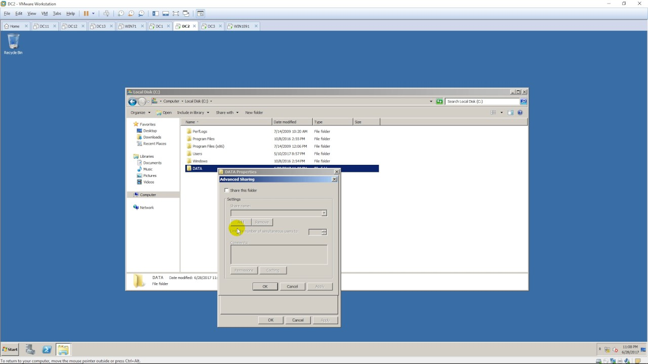 Set up a VPN Server in Windows Server 2008 R2 ( Client to Site )