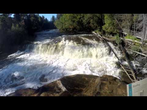 Lower and Upper Tahquamenon Falls - Upper Peninsula Michigan