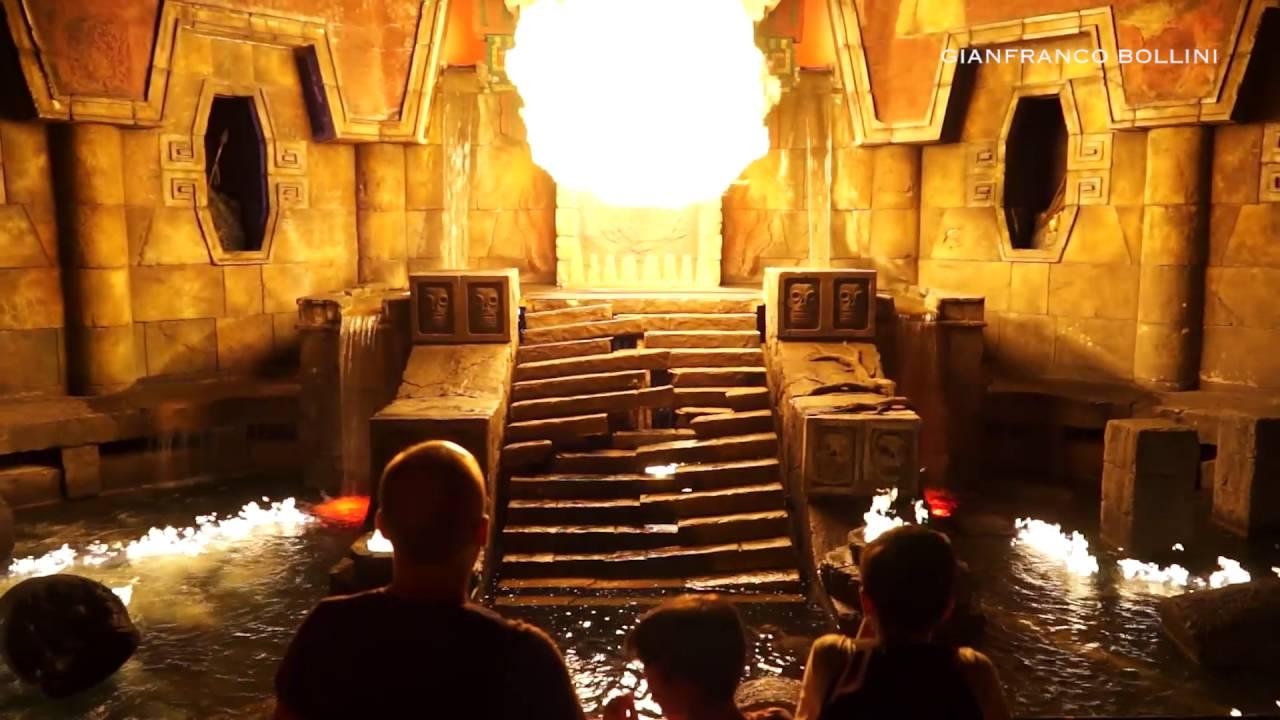 Portaventura World Templo Del Fuego Gianfranco Bollini Youtube