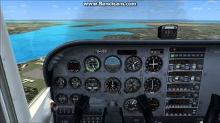 FSX SYFC Competetion Route Practice C172 8:29 Completion