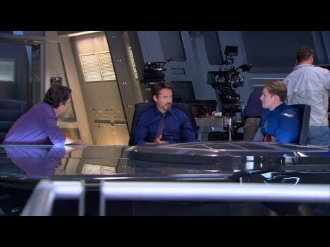 Filming The Avengers