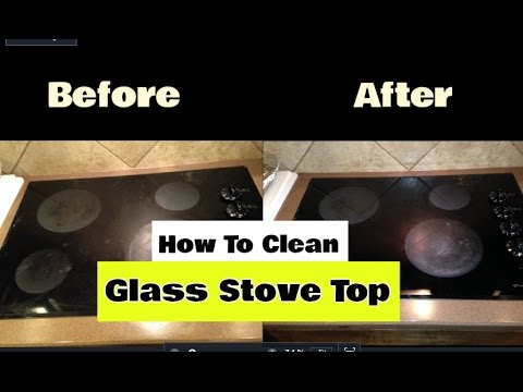 How To Clean A Glass Stove Top | Cheapest & Fastest Method!