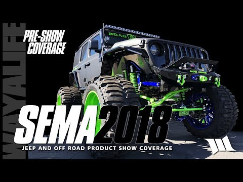 SEMA 2018 Jeep JL Wrangler Products and Accessories Pre-Show Coverage - Part 1