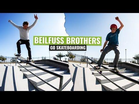 Zack and Drew Belifuss | Go Skateboarding