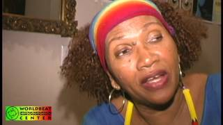 Making of The Reggae Legends documentary clip - Interview with Marcia Griffiths 2005