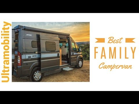 Review of 2018 Hymer Aktiv 1.0 | 20 Foot Camper Van that Sleeps 4