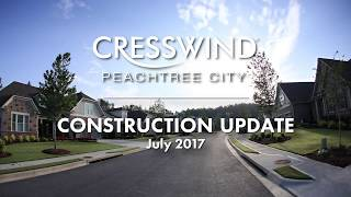 Cresswind Peachtree City - Construction Progress