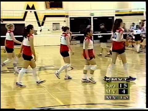 Girls Volleyball 10/24/2000 Mountain View vs saratoga
