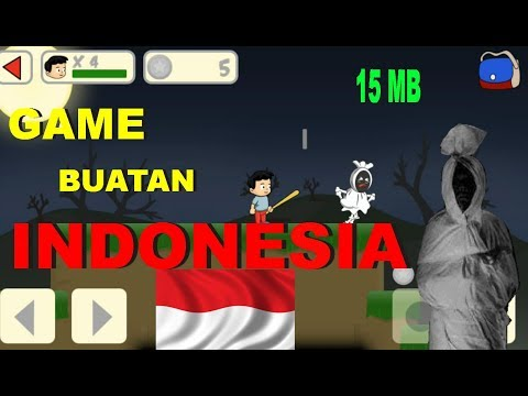 Game Android Kocak Buatan Indonesia Cuma 15MB ~ Pocong Hunter # 1