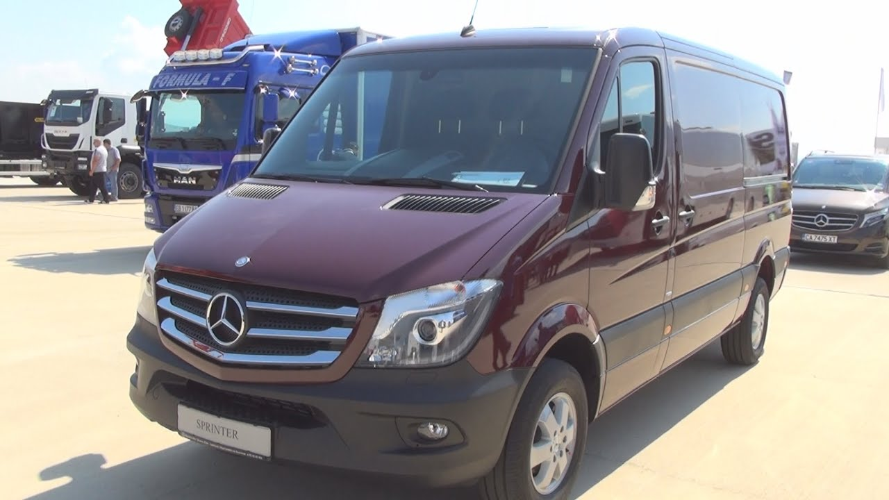 mercedes benz sprinter 316 cdi panel van 2015 exterior and interior in 3d youtube. Black Bedroom Furniture Sets. Home Design Ideas