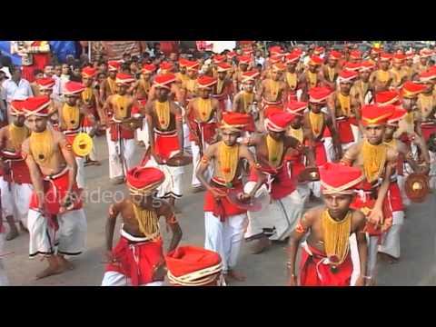 Velakali performance at Sree Padmanabhaswamy Temple