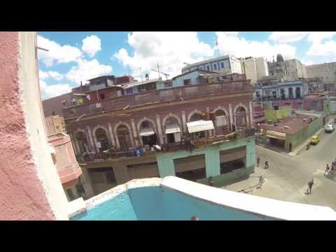 Patrick Carson - studio on Calle *Neptuno* Havana - small apartment- with fresh light-