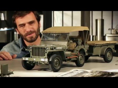 costruisci la mitica jeep willys mb in scala 1 8 youtube. Black Bedroom Furniture Sets. Home Design Ideas