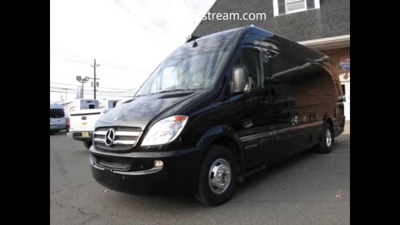 Mercedes sprinter rv conversion airstream interstate for Mercedes benz sprinter airstream