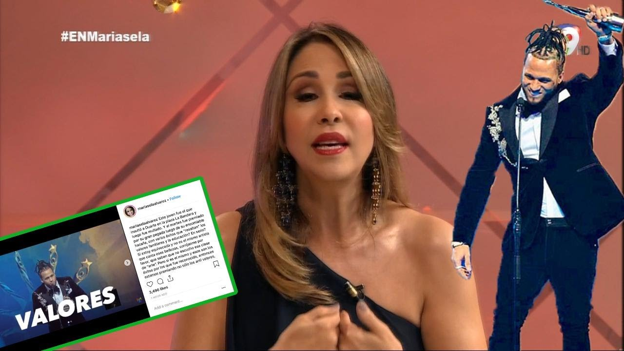 ¡FIRE! Mariasela Álvarez responde a los comentarios en su post sobre los Valores y El Alfa