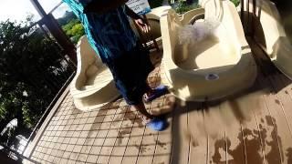 Kalambu Hot Springs La Fortuna GoPro... Bea HERO..!