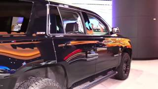 2018 Chevrolet Tahoe Z71 Design Limited Special First Impression Lookaround Review