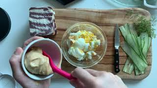에그 스프레드 만들기 / how to make egg …