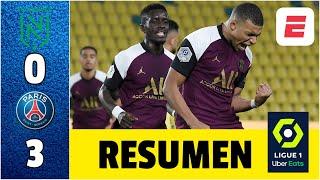 Nantes 0-3 PSG. Mbappé, Herrera y Sarabia anotan y ya piensan en el choque ante Leipzig | Ligue 1