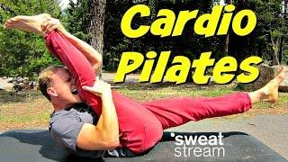 15 Minute Pilates Cardio Core Full Body BURN w/ Sean Vigue