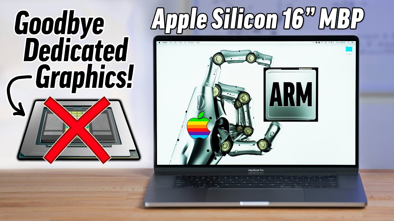 Apple Silicon ARM Macs will NOT have discrete GPUs!